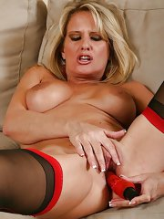 Bridgett wants it rough in her bedroom!