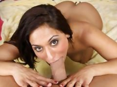 Reena Sky Throated Blowjob Pornstar