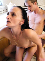 Lad was hungry and his best friend's mom gladly satisfied him all the way he wanted