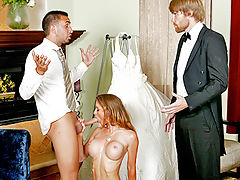 Honey West Bride's best man's got a big dick