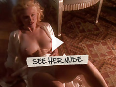 Madonna takes it all off and shows boobs, butt, and bush
