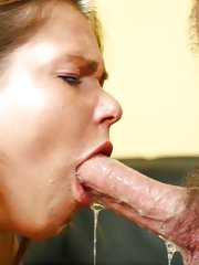 Violated cutie is stuffed and cum soaked