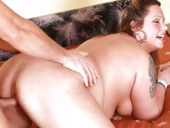 BBW Enjoys Getting Her Fat Ass Drilled & Creamd