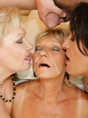 Special mature gangbang gets wicked and wild