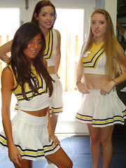 Check out these hot ass mini skirt high school cheeleaders msterbate and fuck eachother in these amateur steamy pics