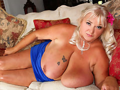 Busty MILF Shugar Loves Big Black Cock