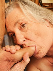 This granny gets nasty with the boy next door