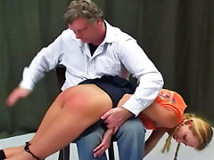 Spanked in High Heels