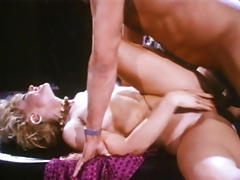 Nice Looking Nina Hartley Gets A Big Cok In Her Pussy