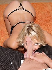 Watch amazing hot fucking blonde milf masterbate her mini skirt pussy in her ferrario then take a big dong up her box in these amazing cumfaced pics