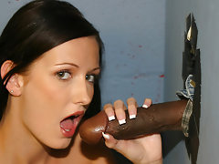 Hailey Young gloryhole