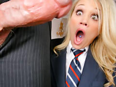 Sexy Heatheer gets her pussy tongue thrashed then filled with hard dick!