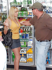 Watch this hot mini skirt milf get picked up in a supermarket in this frozen drink aisl fight 4 vids