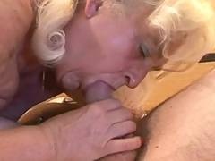 Granny wants some cum in her mouth