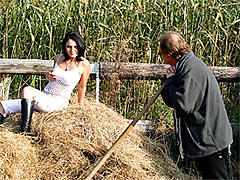 Fucked in the haystack
