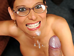 Cum crazed mom Demar Syren loves to tease her sons best friend Chad. She tells him she knows he has had a crush on her when he was younger. Now the perverted mom has him all to herself. Mrs. Syren jerks and coaxes the young lad to cum. When she spits and