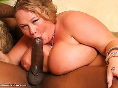 Sienna Hills Gags on 12inch Penis