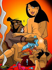 Mulan loves huge cumshots