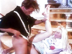 Blondie asks Rocco to fuck her at home \'cause he\'s so sexy!