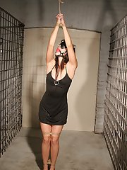 Bailee This is her first BDSM scene