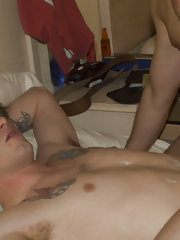 There is a time and place for everything. It's called college. So what happens behind closed dorm room doors when a horny straight dude winds up with a new roommate who happens to be gay? You guessed it - cocksucking butt pounding good times! And we have