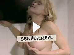 Linnea Quigley shows hall of fame boobs, butt, and beaver