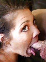 She got her three holes pounded and smothered in cum