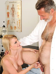 Sexy Candy Lover is fucking with a much older man