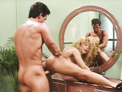 Horny Nina Hartley Gets Fucked By Powerful Peter North