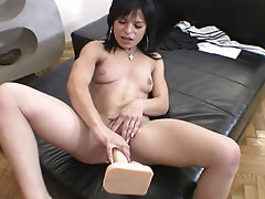 Wild hottie gets to suck and fuck Rocco's awesome dick !