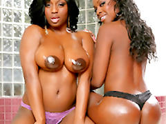 Toni and Jada get their big asses pounded by Ramon.